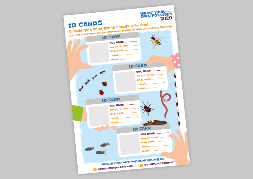 Create your own Bug ID cards  2020